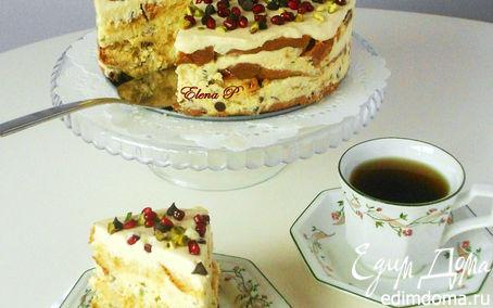 Рецепт Итальянский рождественский торт (без выпечки)
