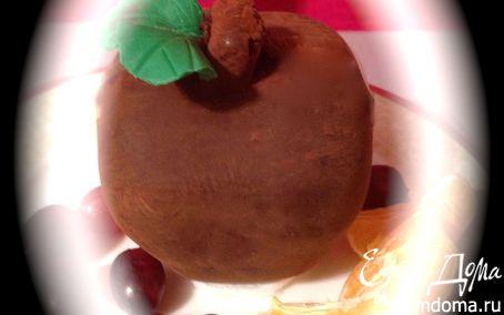 Рецепт Шоколадное яблоко с сюрпризом