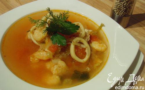 Рецепт Рыбный суп буйабес
