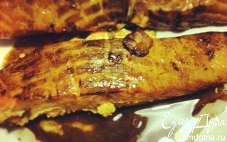 Рецепт Филе лосося в маринаде с наршарабом