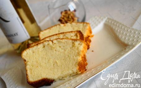 Рецепт Королевский кекс с белым вином