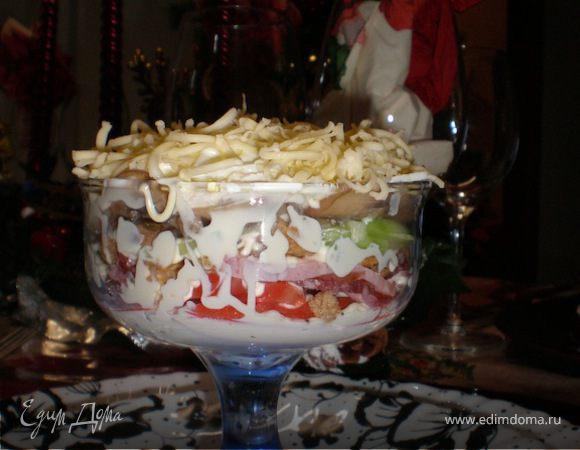 Праздничный салатик