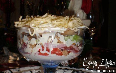 Рецепт Праздничный салатик