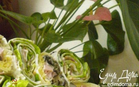 Рецепт Закуска из лаваша
