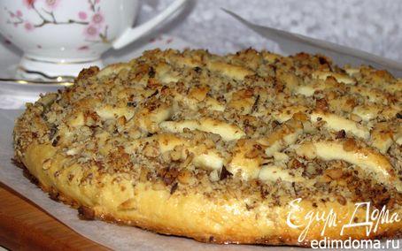 Рецепт Венгерский ореховый пирог с яблоками