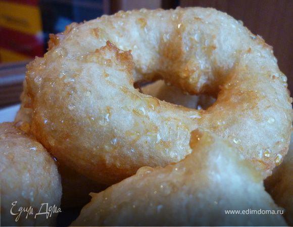 Медовые пончики