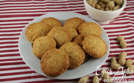 Рецепт Арахисовое печенье