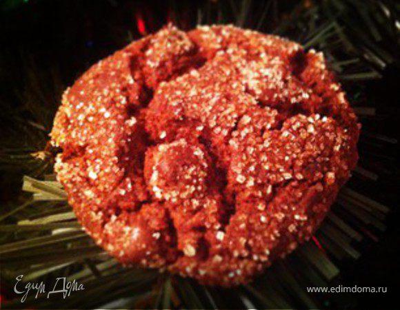 Печенье-брауни с двойным шоколадным вкусом