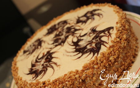 Рецепт Апфельмусс-торт (Торт с яблочным кремом)