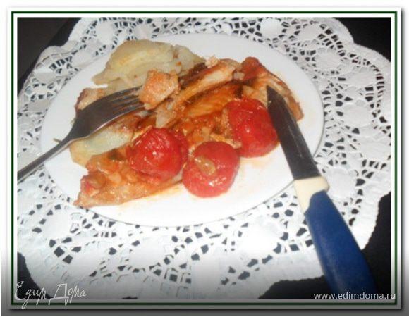 Три рецепта креветочной рыбы-конгрио (в горчичном соусе, жареная, в кисло-сладком соусе)