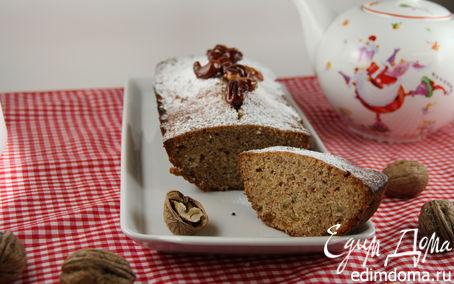 Рецепт Стамбульский кекс с грецкими орехами, изюмом и корицей