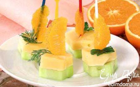Рецепт Сырная закуска