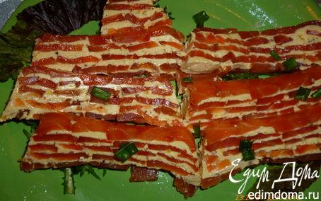 Рецепт Террин из копченого лосося