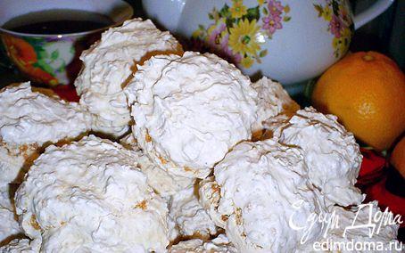 Рецепт Заварное кокосовое безе