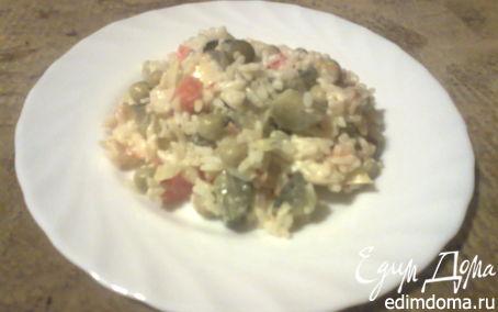 Рецепт Острый салат с рисом