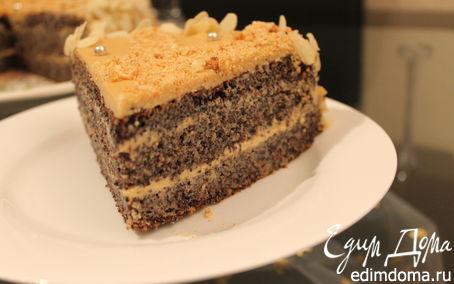 Рецепт Маковый торт без муки