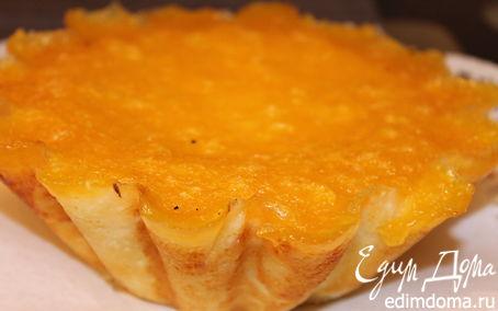 Рецепт Творожно-апельсиновая запеканка