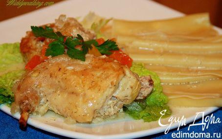 Рецепт Кролик в сметанном соусе