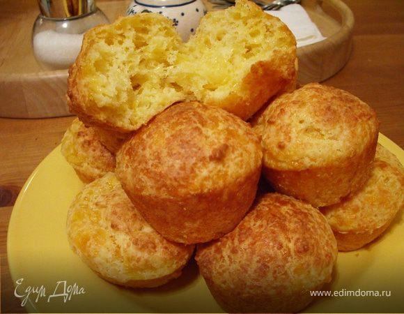 Маффины с мраморным сыром