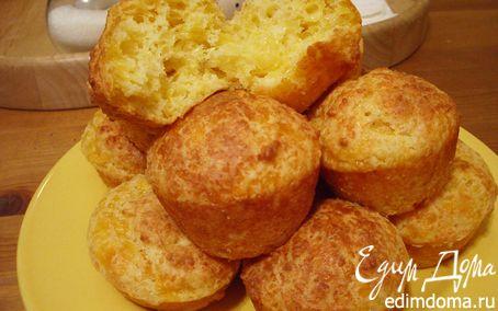Рецепт Маффины с мраморным сыром