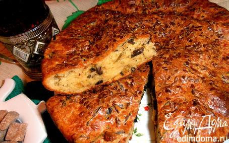 Рецепт Мужской пирог с грибами