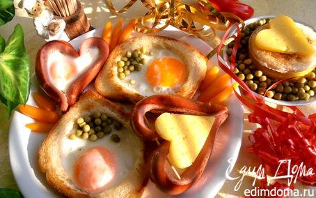 "Рецепт ""Завтрак для любимого"""