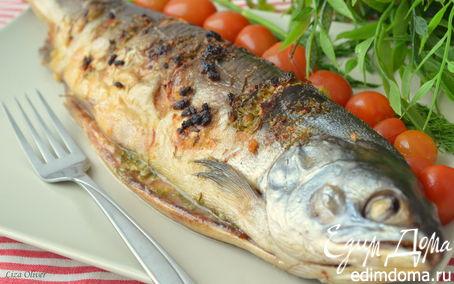 Рецепт Рыбка в лимонно-чесночном масле