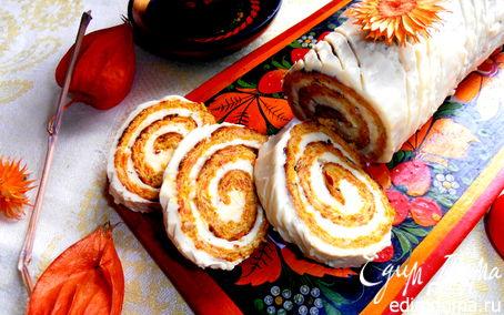 Рецепт Овощной рулет-закуска (без муки!)