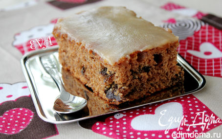 Рецепт Пирог с черносливом и карамелью