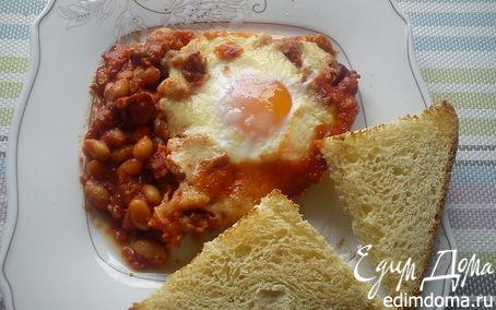 Рецепт Фасоль с томатами и чоризо