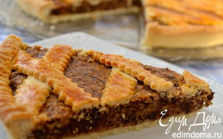 Рецепт Миндально-шоколадный пирог