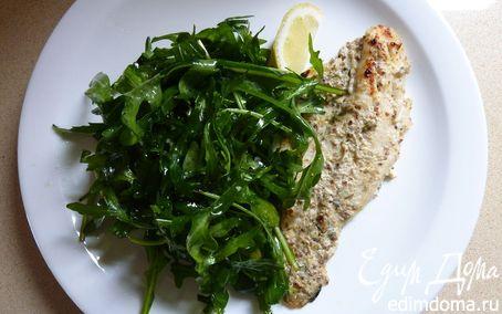 Рецепт Зажаренная рыбка с горчицей