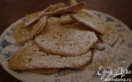 Рецепт Печенье «Мадлен» с овсяными отрубями