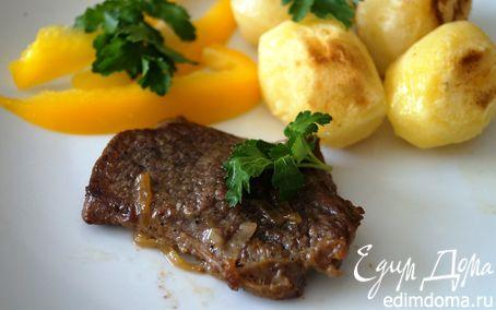 Рецепт Медальоны из говядины с картофелем Шато