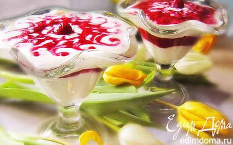 """Рецепт Творожный десерт """"Для любимой"""""""