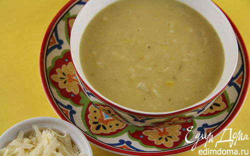 Рецепт Луковый суп с яблоком и сидром