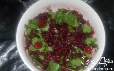 Рецепт Освежающий свекольный салат