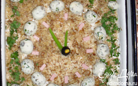 "Рецепт Салат ""Перепелиные яйца"""