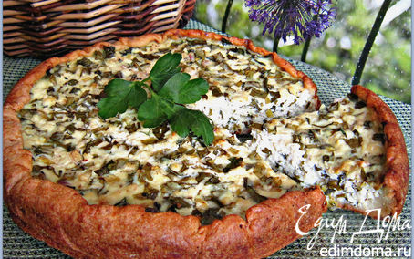 Рецепт Весенний пирог с зеленью