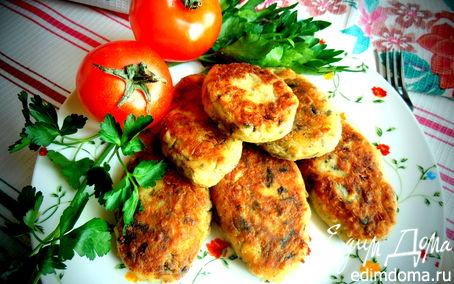 Рецепт Постные картофельные котлетки с грибами