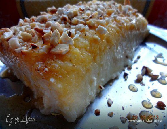 """Турецкий десерт """"Жженый сахар"""""""