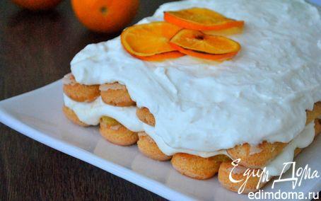 Рецепт Тосканский творожный десерт с апельсинами