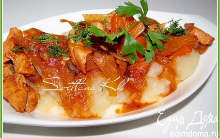 Рецепт Острое куриное филе в пикантном соусе