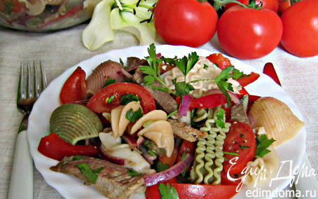 Рецепт Сытный салат для всей семьи