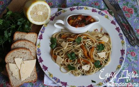"Рецепт Спагетти ""весенние"" с овощами"