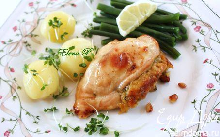 Рецепт Куриные грудки с пикантной начинкой
