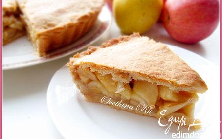 Рецепт Яблочный пирог на газировке