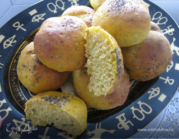 Овощные булочки (постные)