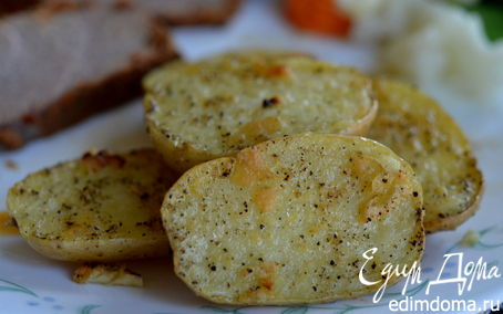 Рецепт Картофель с лимонно-чесночным вкусом