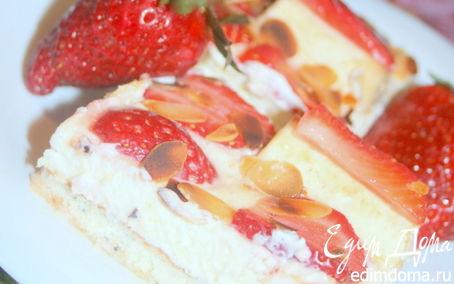 Рецепт Клубнично-банановые пирожные